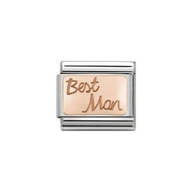 NOMINATION COMPOSABLE CLASSIC ROSE BEST MAN LINK