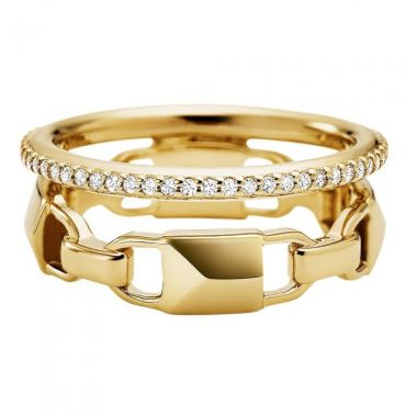 MICHAEL KORS LINK STACKED RING