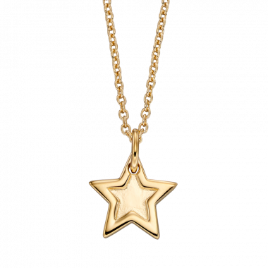 LITTLE STAR FLORENCE GOLD STAR NECKLACE