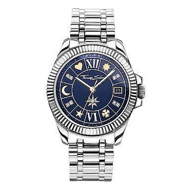 THOMAS SABO WOMENS WATCH LUCKY CHARM, TWO-TONE