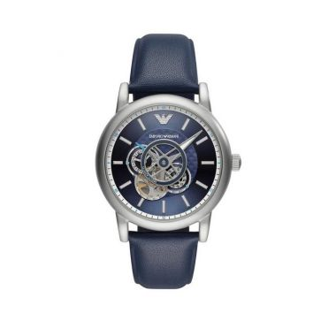 EMPORIO ARMANI AUTOMATIC BLUE DIAL GENT'S WATCH