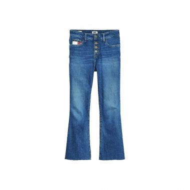 TOMMY JEANS KATIE CROPPED FLARE JEANS