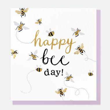 CAROLINE GARDNER HAPPY BEE DAY CARD