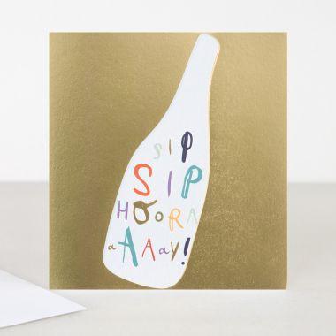 CAROLINE GARDNER SIP SIP HOORAY CARD
