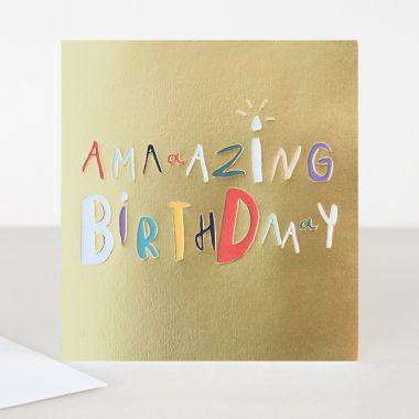 CAROLINE GARDNER AMAZING BIRTHDAY CARD