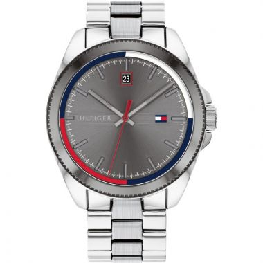 TOMMY HILFIGER GENT'S RILEY STAINLESS STEEL WATCH