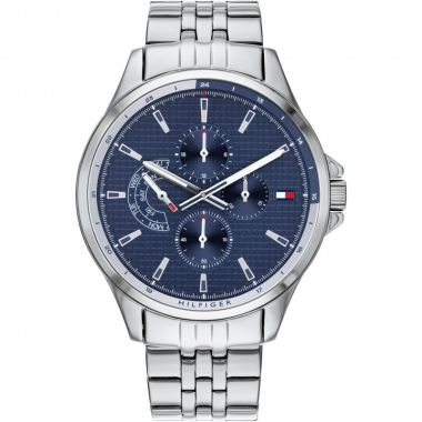 TOMMY HILFIGER GENT'S SHAWN BLUE DIAL WATCH