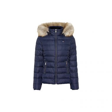 TOMMY JEANS ESSENTIAL DOWN FILLED HOODED JACKET