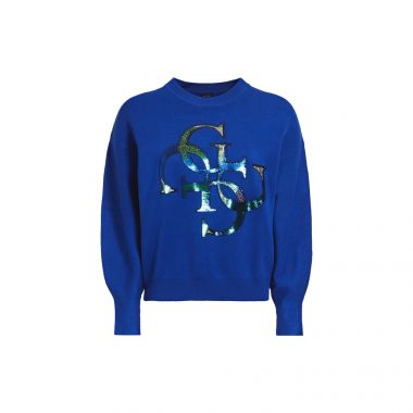 GUESS 4G EMBROIDERY LOGO SWEATER