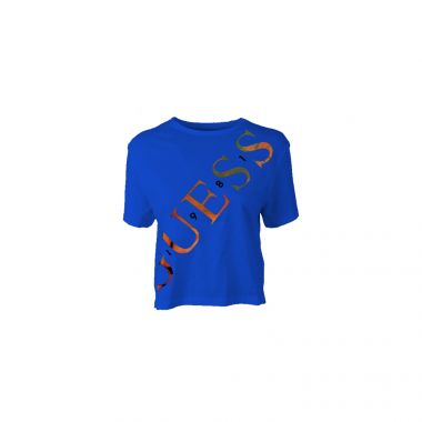 GUESS SYBELLA TEE IN BLUE