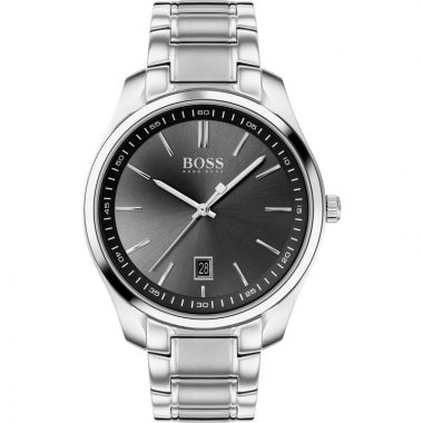 BOSS CIRCUIT GENT'S STAINLESS STEEL WATCH