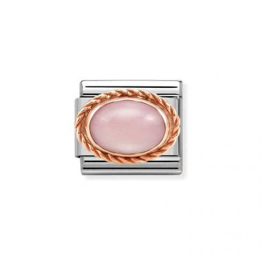 NOMINATION CLASSIC COMPOSABLE ROSE GOLD PINK OPAL LINK