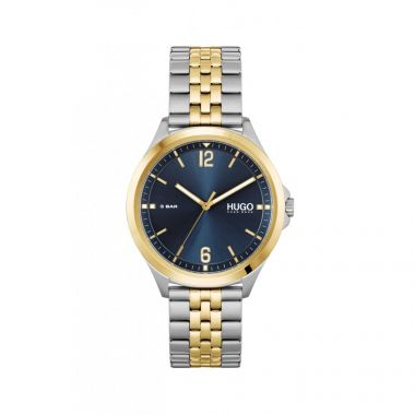 HUGO BY HUGO BOSS #SUIT GENT'S TWO TONE WATCH