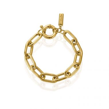 CHLOBO COUTURE GOLD CHUNKY LINK BRACELET