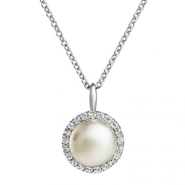 JERSEY PEARL SILVER AND PEARL AMBERLEY PENDANT 1703580