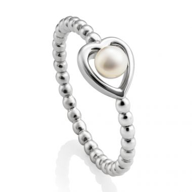 JERSEY PEARL PEARL RING BY KIMBERLEY SELWOOD SIZE UK M