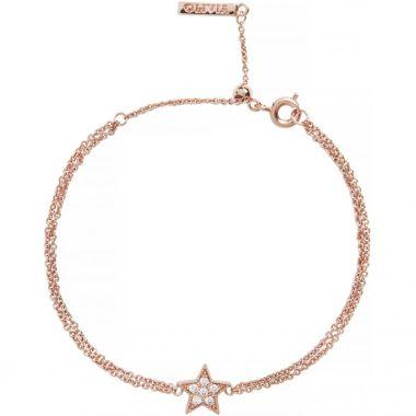 OLIVIA BURTON ROSE GOLD CELESTIAL STAR CHAIN BRACELET