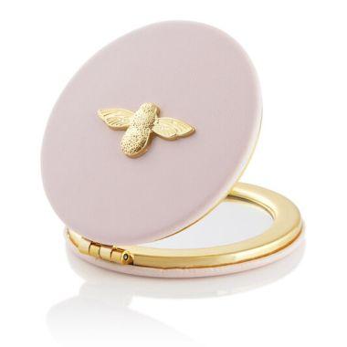 OLIVIA BURTON 3D BEE PINK & GOLD MIRROR