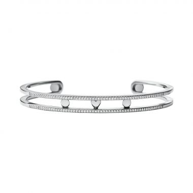MICHAEL KORS SILVER BANGLE