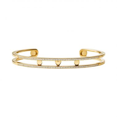 MICHAEL KORS YELLOW GOLD BANGLE