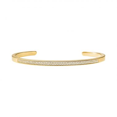MICHAEL KORS BANGLE IN YELLOW GOLD