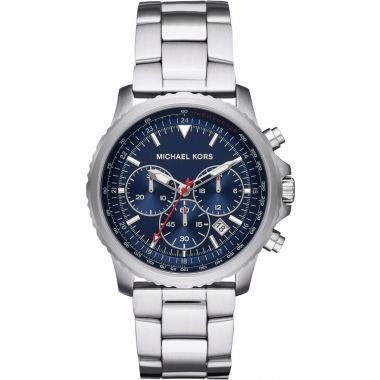 MICHAEL KORS THEROUX CHRONOGRAPH STAINLESS STEEL MEN'S WATCH