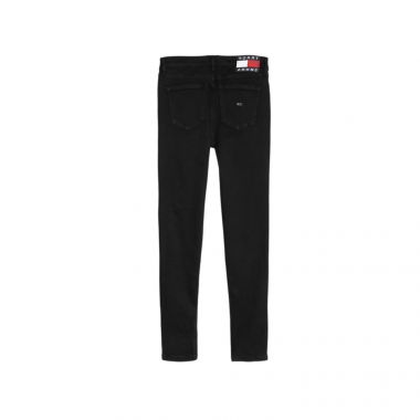 TOMMY JEANS NORA MID RISE SKINNY JEANS IN BLACK