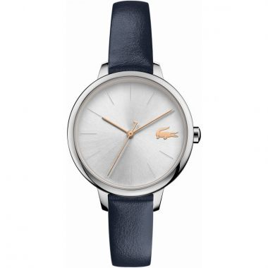 LACOSTE LADIES CANNES WATCH IN BLUE LEATHER