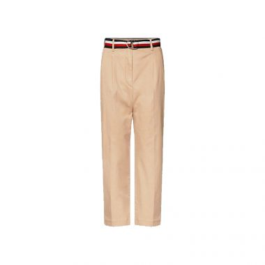TOMMY HILFIGER ESSENTIAL PLEATED CHINO CLASSIC KHAKI