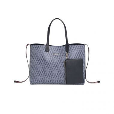 TOMMY HILFIGER TOMMY ICONS MONOGRAM TOTE
