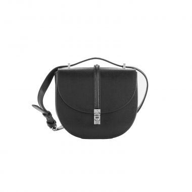 VIVIENNE WESTWOOD 'SOFIA' MINI SADDLE BAG IN BLACK