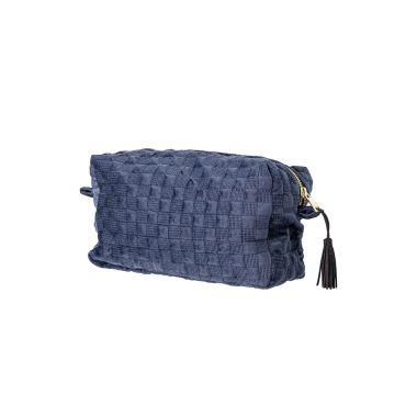BLOOMINGVILLE MAKEUP BAG IN BLUE