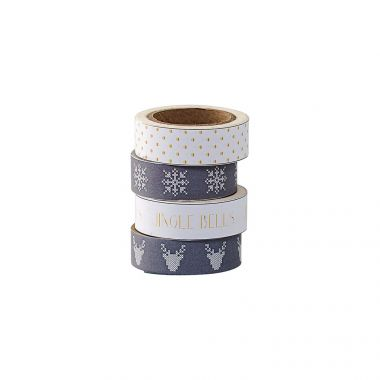 BLOOMINGVILLE SET OF 4 DECORATIVE TAPE
