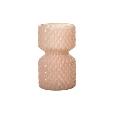 BLOOMINGVILLE GLASS ROSE VASE