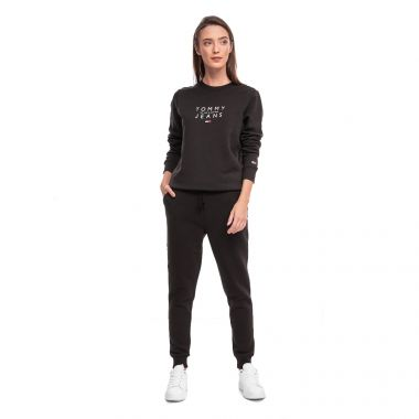 TOMMY JEANS TOMMY CLASSICS JOGGERS IN BLACK