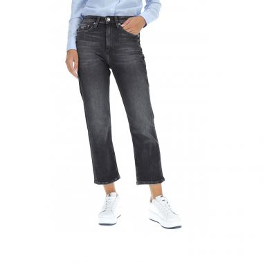 TOMMY JEANS STRAIGHT ANKLE JEANS
