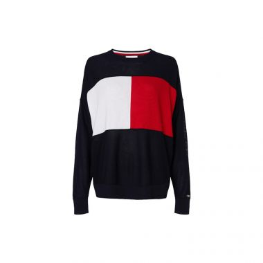 TOMMY HILFIGER ICONS FLAG SWEATSHIRT