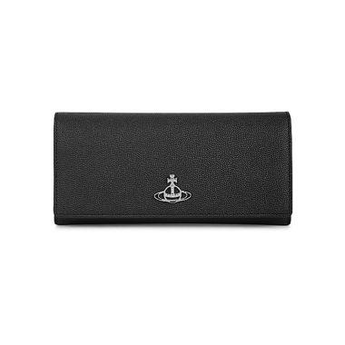 VIVIENNE WESTWOOD WINDSOR LONG CARD HOLDER IN BLACK