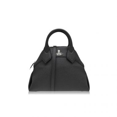 VIVIENNE WESTWOOD WINDSOR SMALL HANDBAG IN BLACK