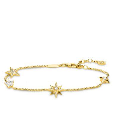THOMAS SABO BRACELET STARS GOLD