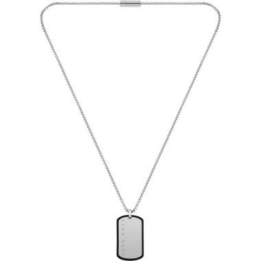 BOSS GENT'S ID DOG TAG NECKLACE