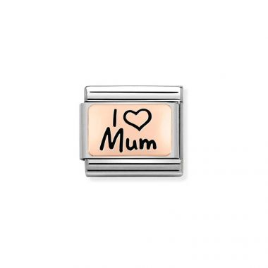 NOMINATION CLASSIC COMPOSABLE ROSE GOLD I LOVE MUM