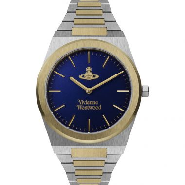VIVIENNE WESTWOOD MENS LIMEHOUSE GRAND TWO TONE WATCH