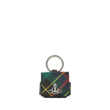 VIVIENNE WESTWOOD DERBY LARGE ROUNDED AIRPOD PRO CASE