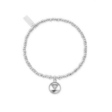 CHLOBO SPARKLE DISC EARTH BRACELET