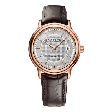 RAYMOND WEIL GENT'S ROSE GOLD MAESTRO 39MM AUTOMATIC WATCH
