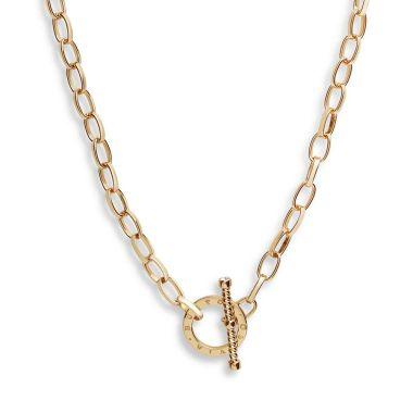 OLIVIA BURTON T-BAR NECKLACE GOLD