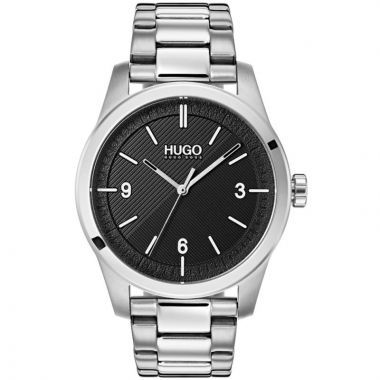 HUGO BY HUGO BOSS #CREATE GENT'S SILVER STAINLESS STEEL WATCH