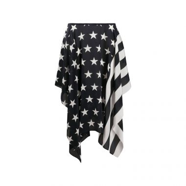 TOMMY HILFIGER STARS AND STRIPES HANDKERCHIEF SKIRT