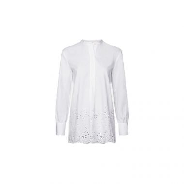 TOMMY HILFIGER BRODERIE ANGLAISE RELAXED FIT SHIRT